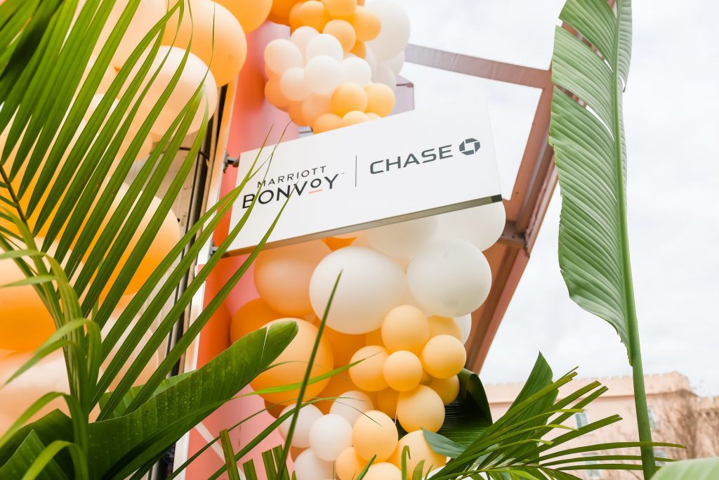 Crush Studio is known for their playful use of color. They partnered with Marriott Bonvoy  Boundless™ from Chase to put on an interactive event at the Charleston Wine & Food Festival.