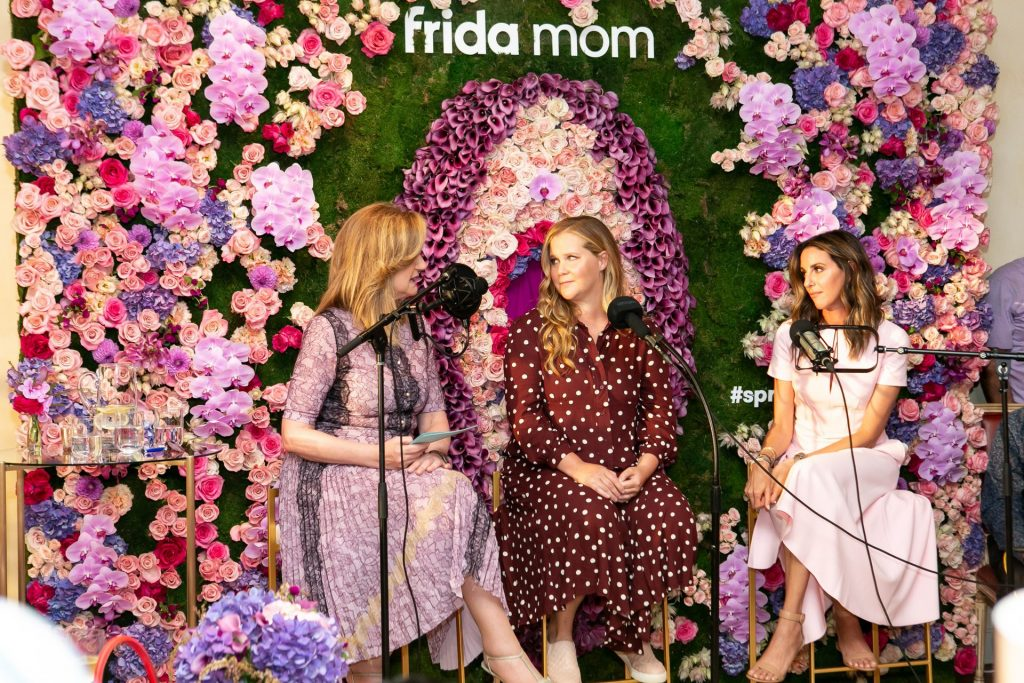Crush Studio worked with Frida Mom on a series of launch events including a dinner with a fireside chat with Chelsea Hirschhorn, Arianna Huffington and Amy Schumer.