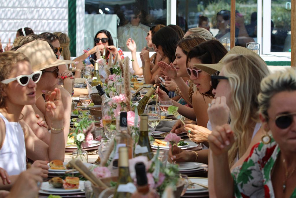 Crush Studio hit the hot spot of the summer, Montauk, to design a beautifully-scaped luncheon for Frida Mom.