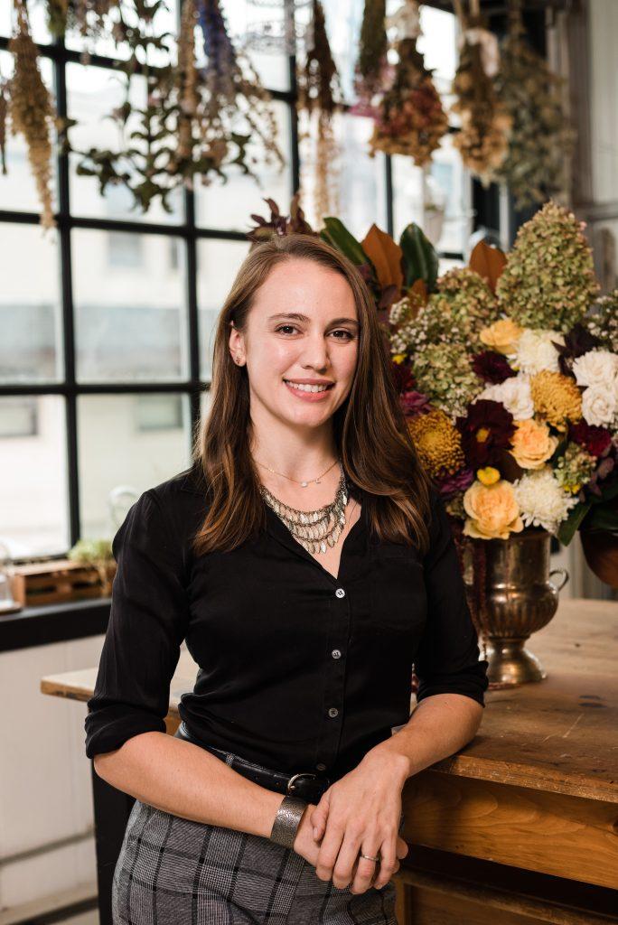 Lindsey Neff, Owner & Head Designer Larkspur Botanicals, Floral Design Company