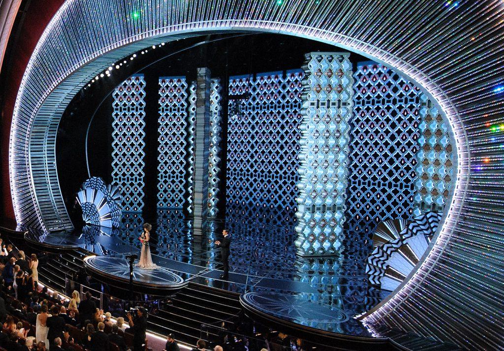 Oscars set design by Derek McLane