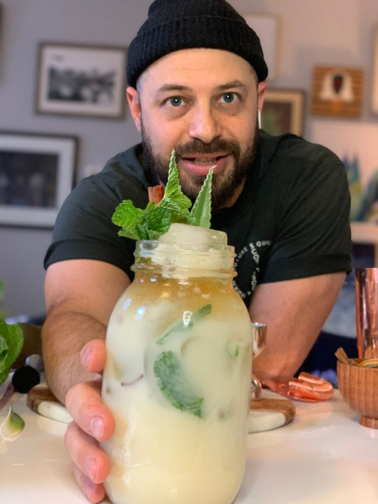 Cody Goldstein of Muddling Memories offers a cocktail